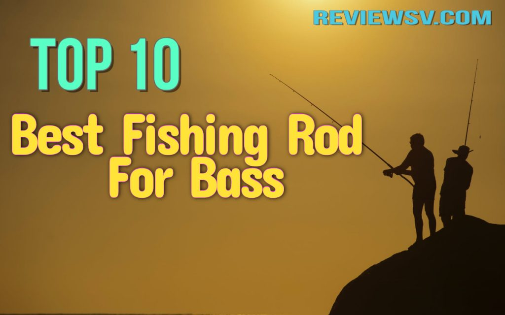 Best Fishing Rod For Bass in 2020: (Top 10) Reviewed 1