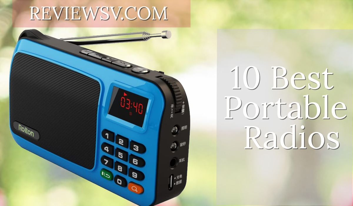 Top 10 Best Portable Radios In 2020 Reviews 1